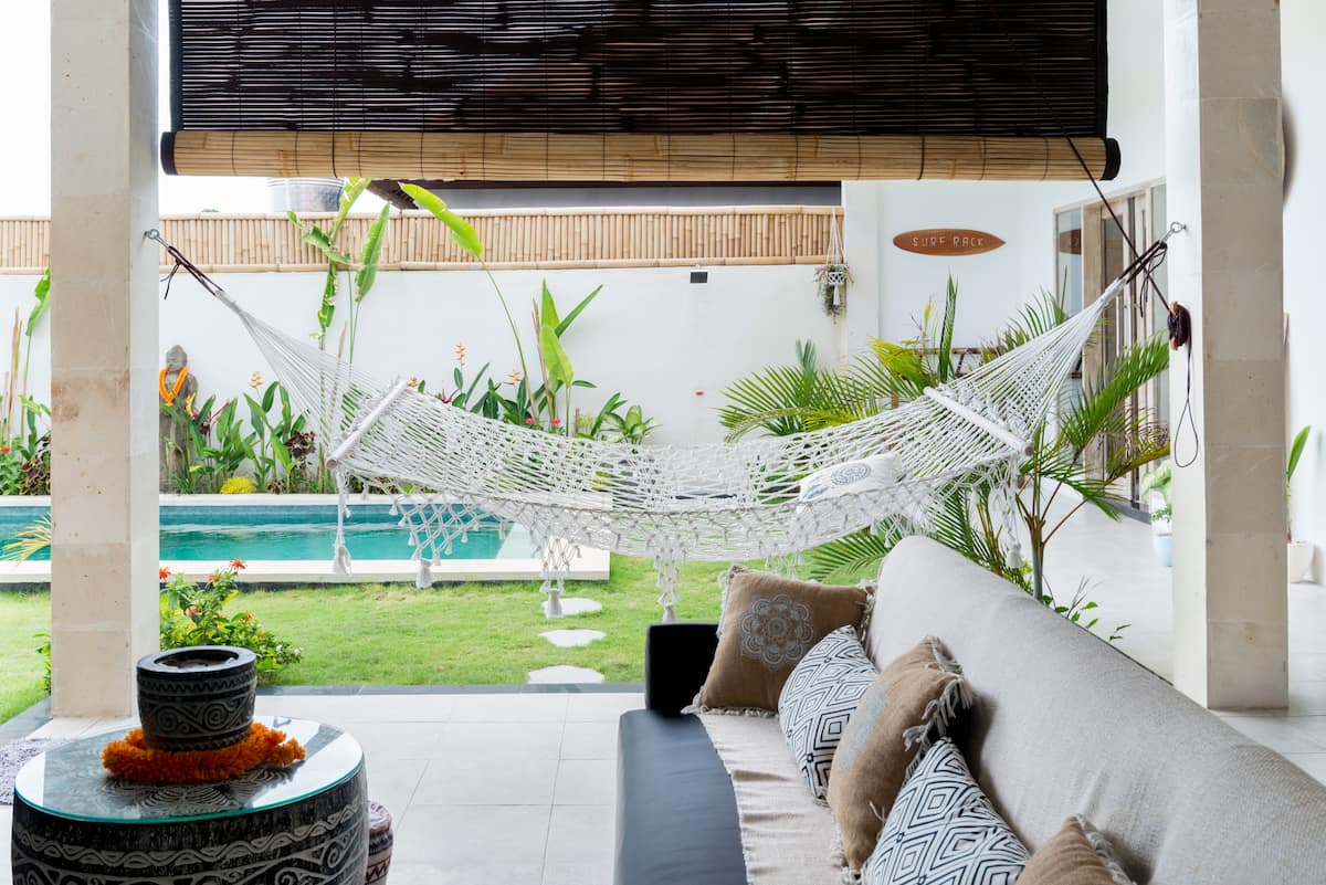 Beautiful Canggu Villa with Large Garden Next to Samadi Yoga