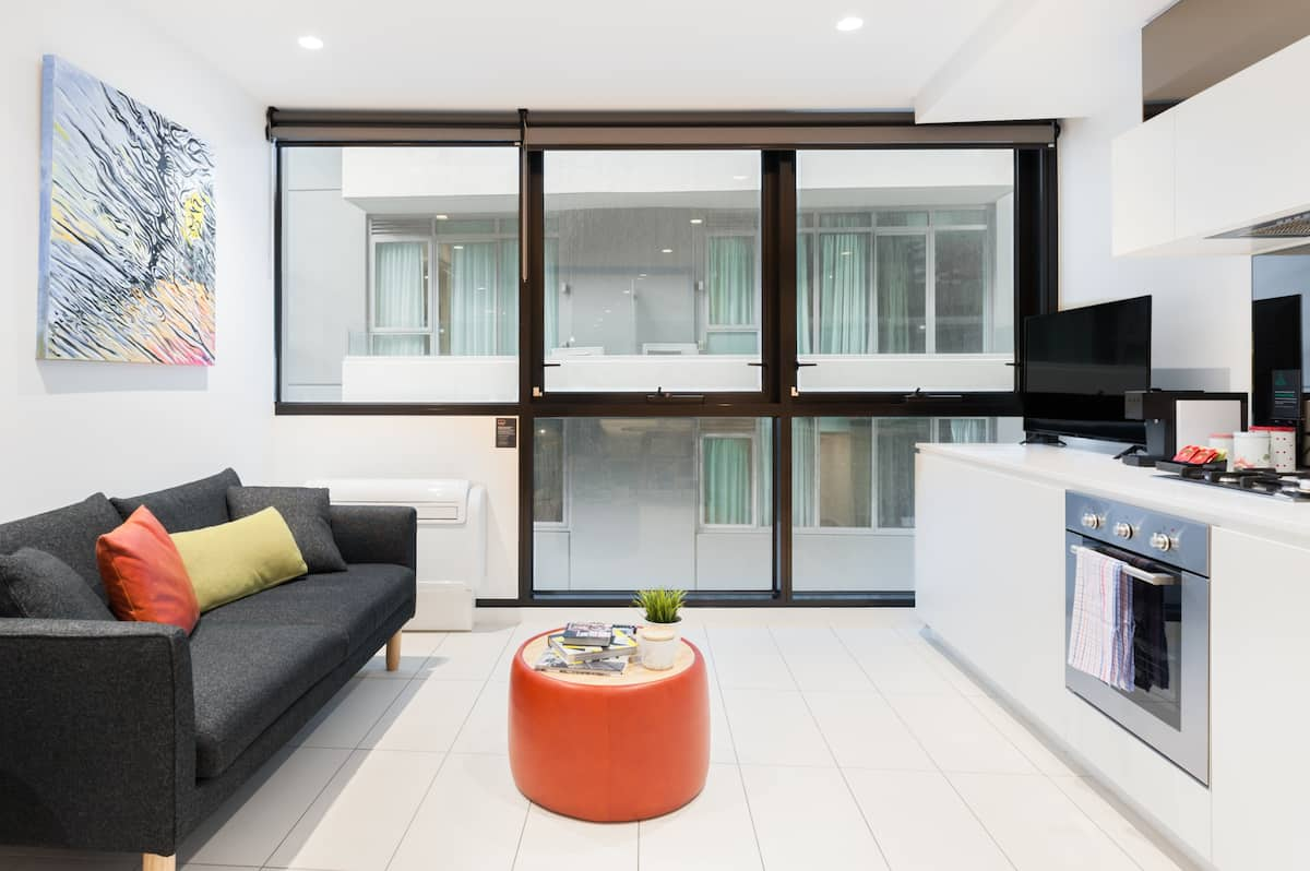 Sleek Ultramodern Flat near the Crown Casino