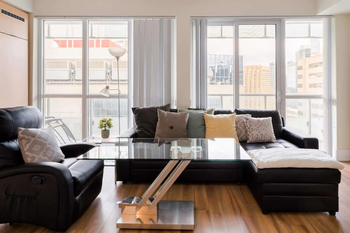 Explore Downtown from a Condo Filled with Light and Luxury