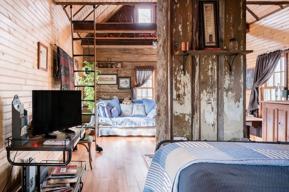 Recharge and Renew in a Preserved Historic Cottage