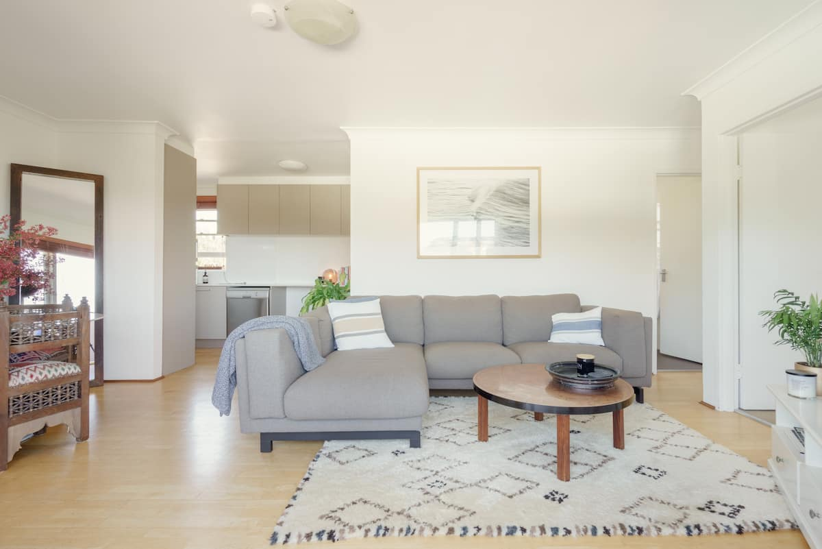 Quiet Sun Filled Flat Just Steps from Bondi Beach