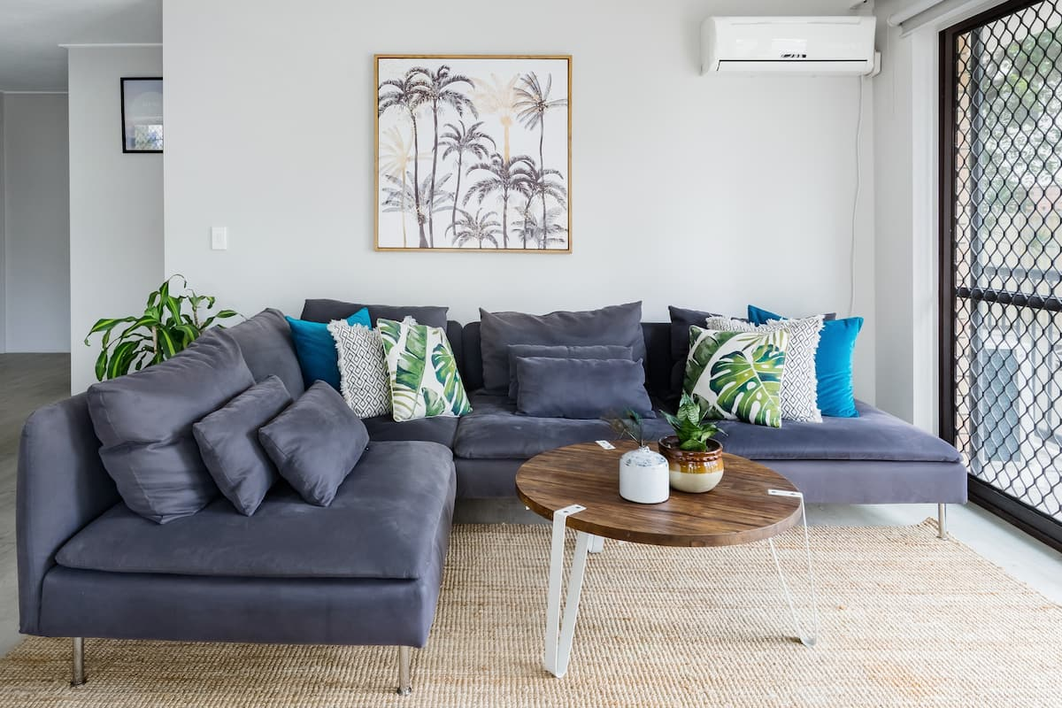 Stroll to the Beach on the Gold Coast from a Boho Beach Pad