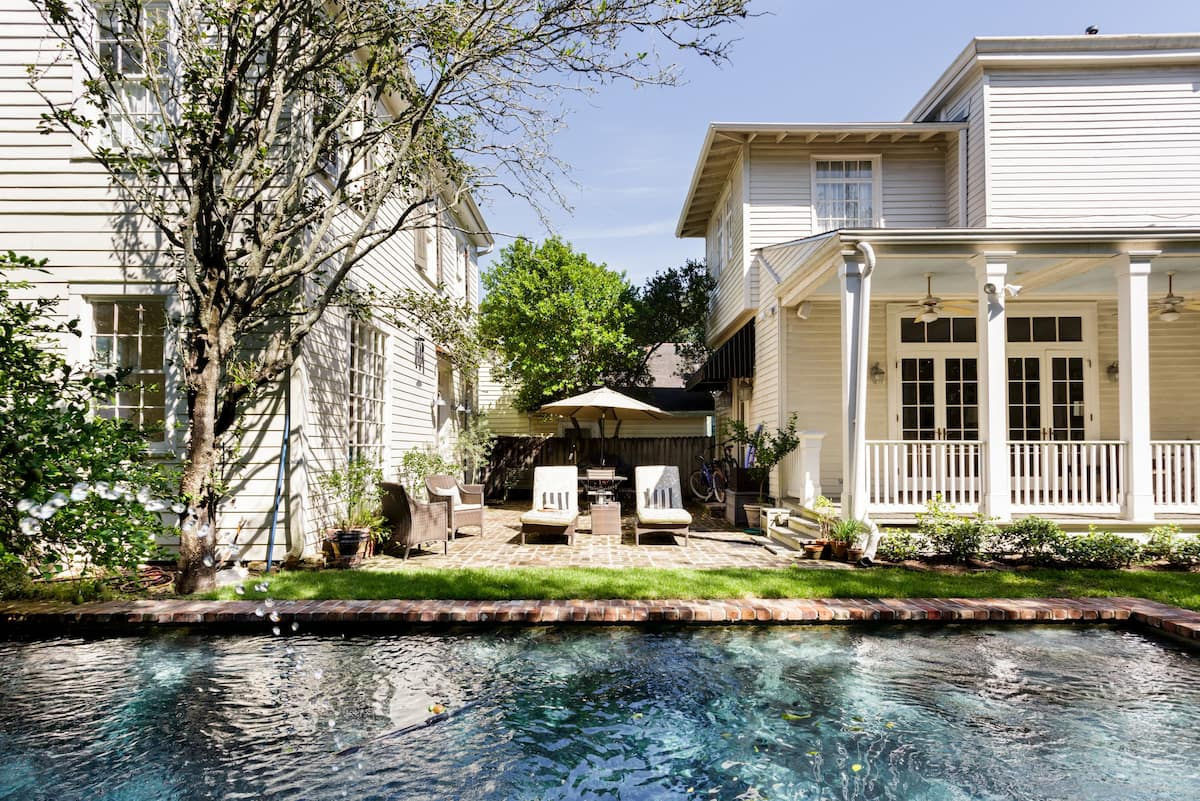 Turn of the Century Carriage House with Saltwater Pool