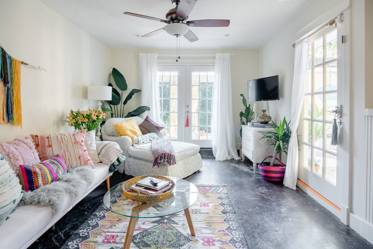 Airy, Bohemian Vibe with Outdoor Swing Lounge, near Museums
