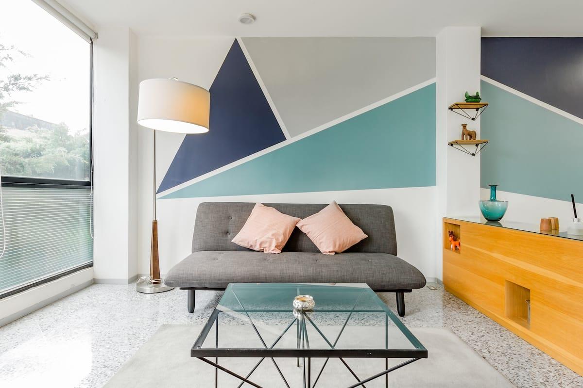 Chic Minimalist Apartment in Roma