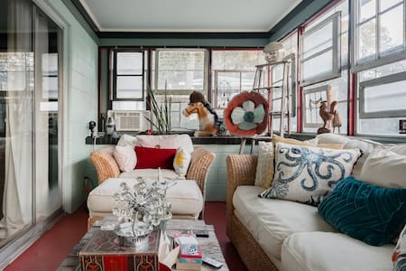 Guest Room in Eclectic Artist's Residence