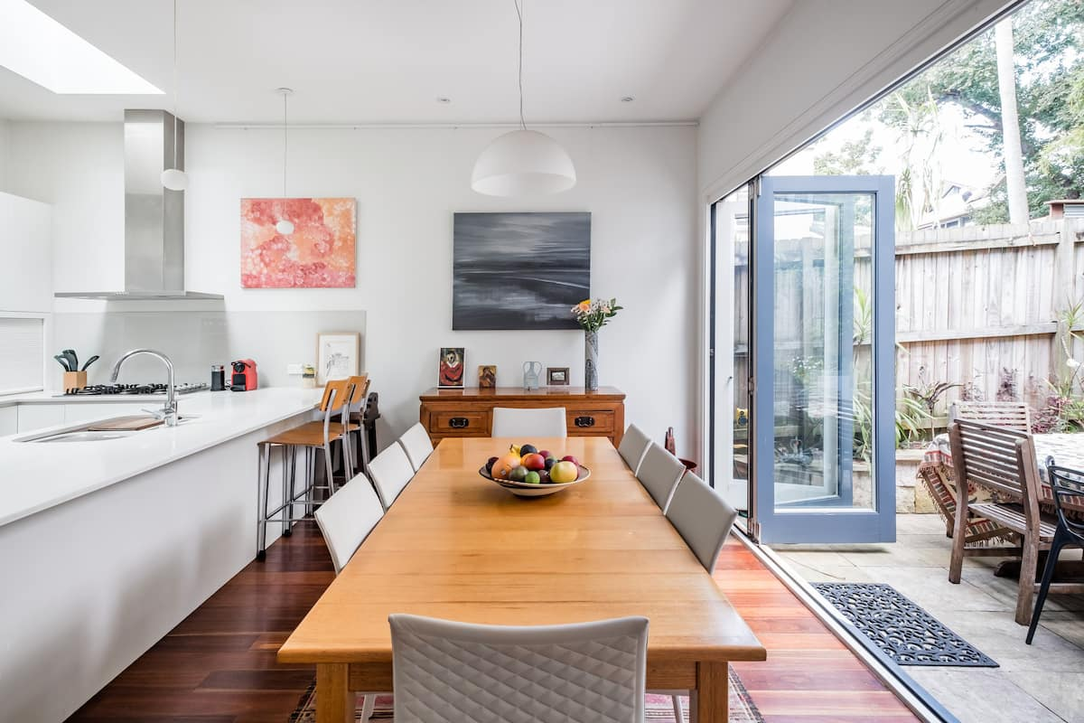 Stroll to the Ferry from a Beautiful Balmain Retreat
