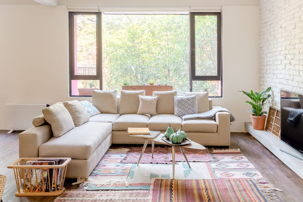 Industrial Inspired Rustic Loft Apartment