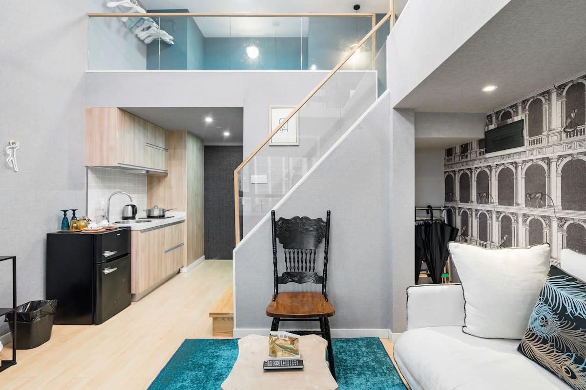 杭州城西银泰西城纪设计师的法式独立公寓