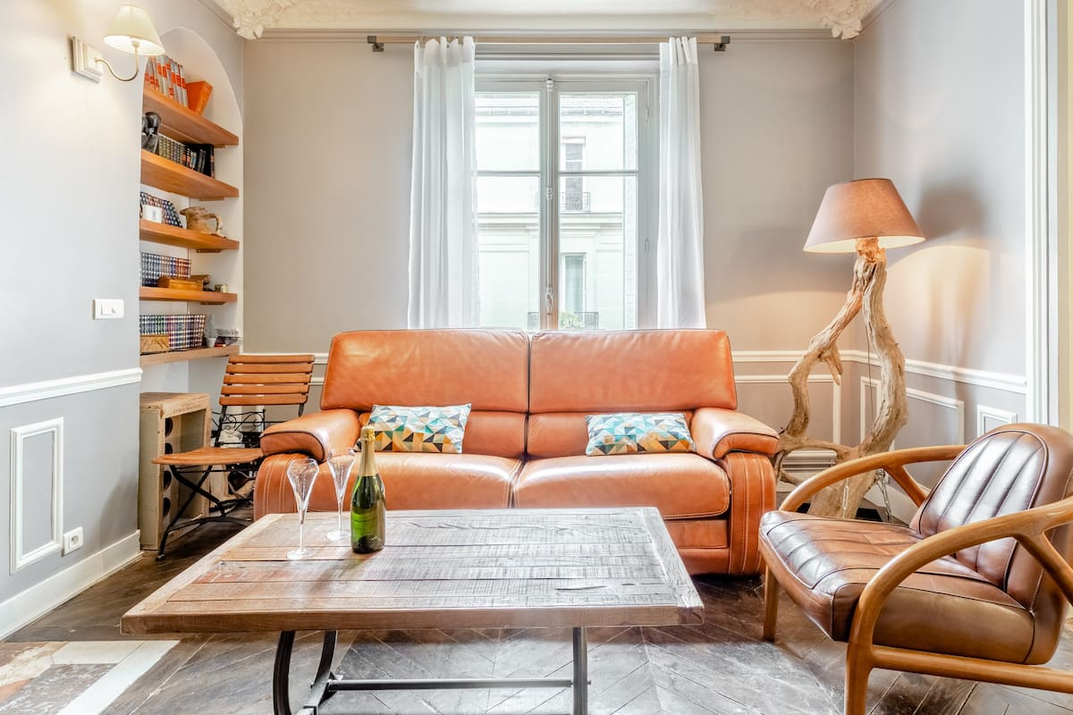 Le Boudoir - Appartement aux accents haussmaniens