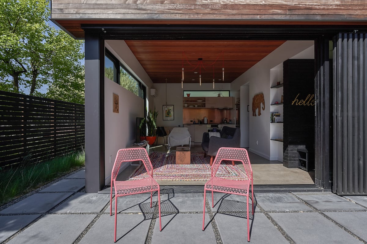 Walk to SE Division from a Sleek, Architect-Designed Space
