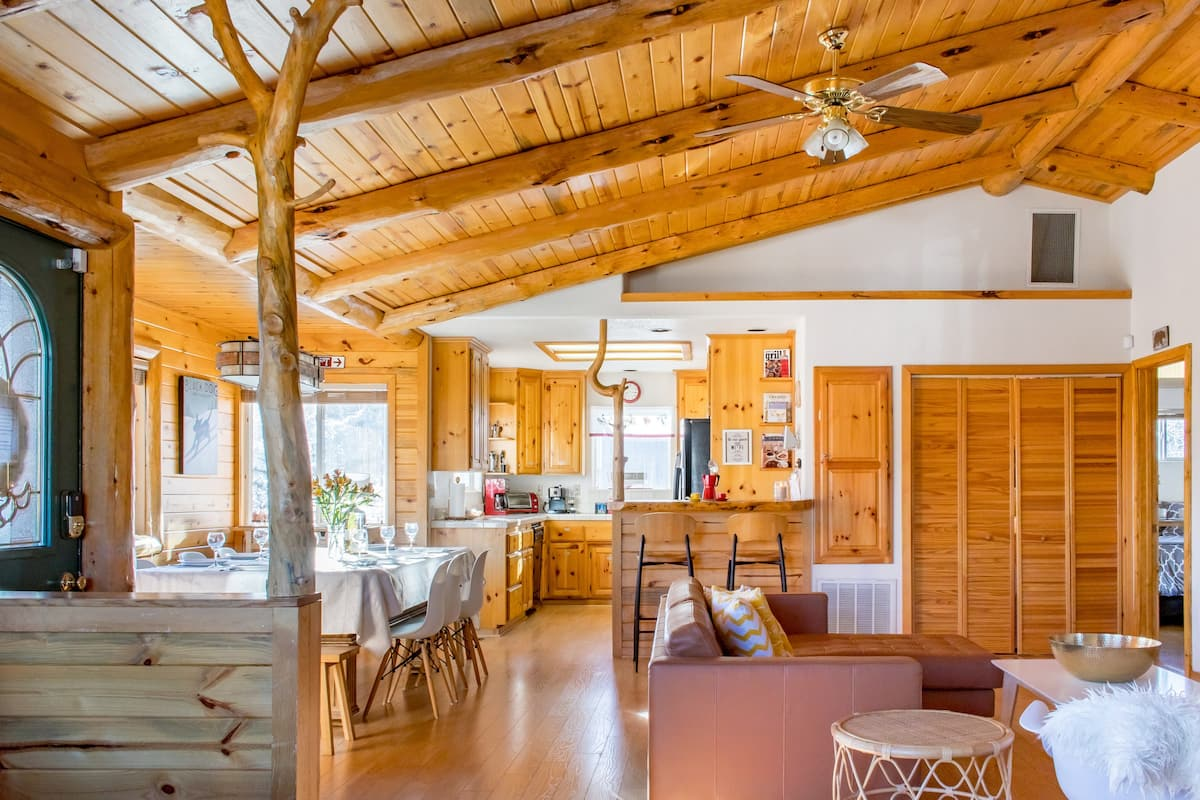 Entertain Family & Friends at Big Bear Necessities Chalet