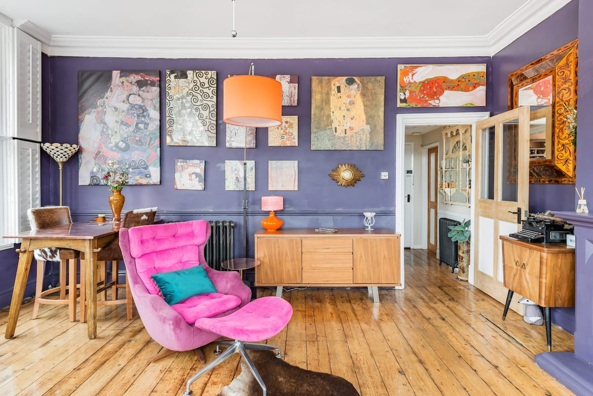 See the South Shopshire Hills From a Boho Boutique Flat