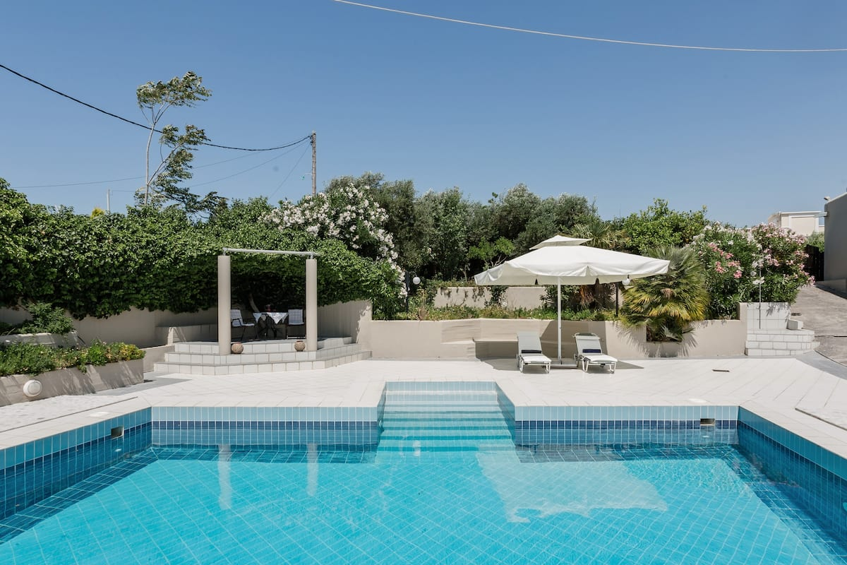 Savor Simple Living at an Idyllic, Secluded Poolside Escape