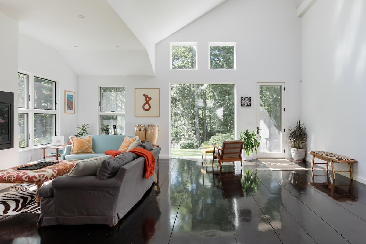 Bright, Contemporary Home in Camden, ME