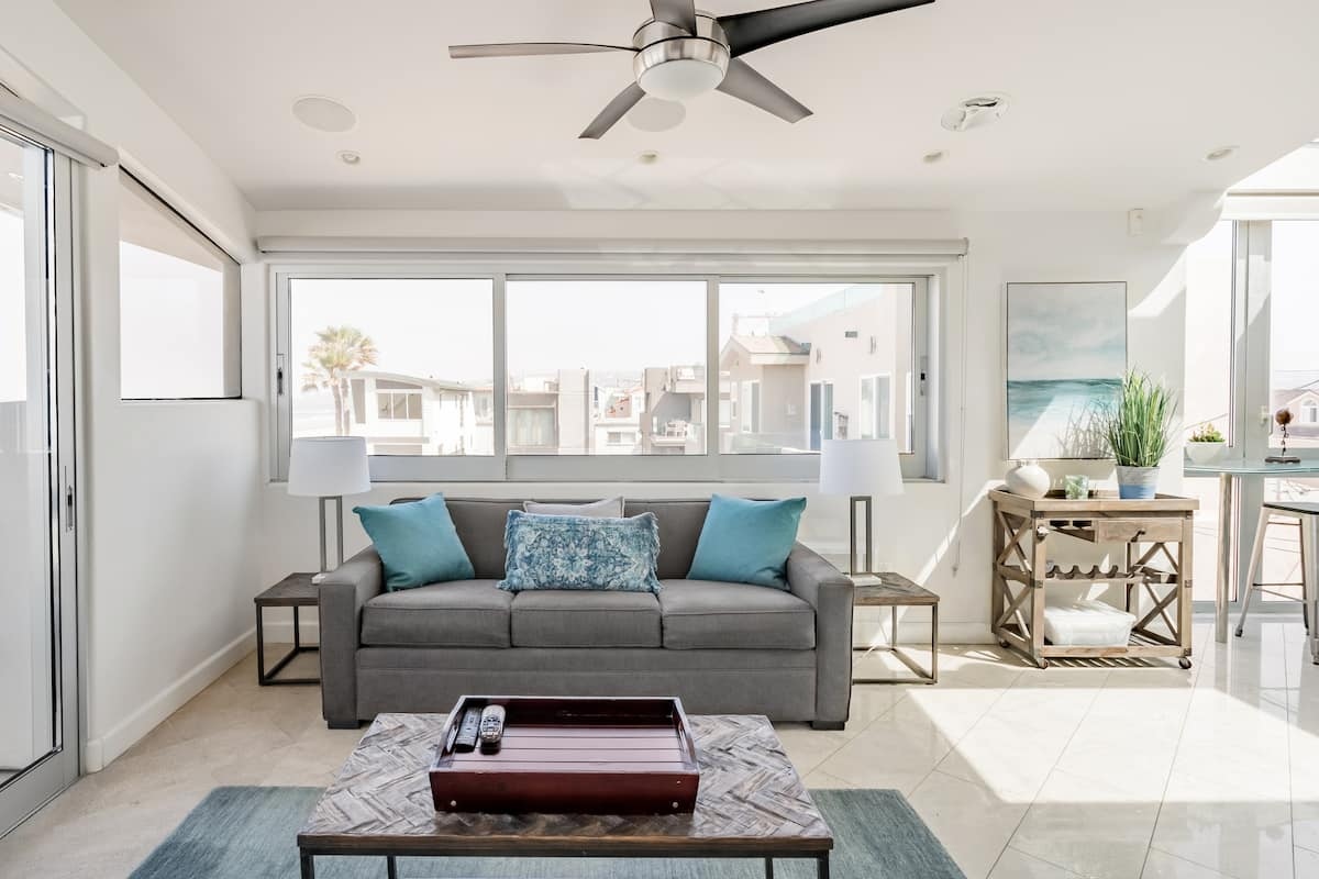 Explore San Diego From a Radiant Beachfront Home