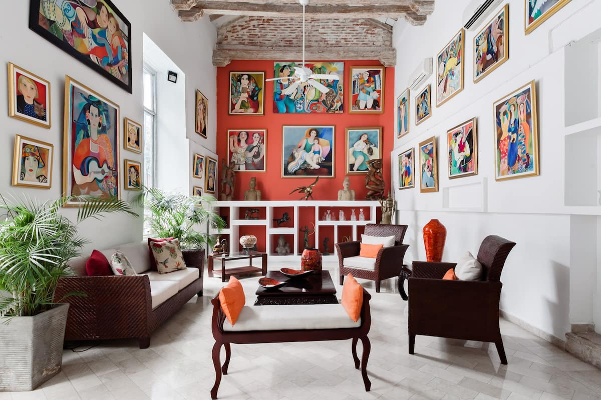 Exclusive Fancy Artistic Villa in Downtown Cartagena