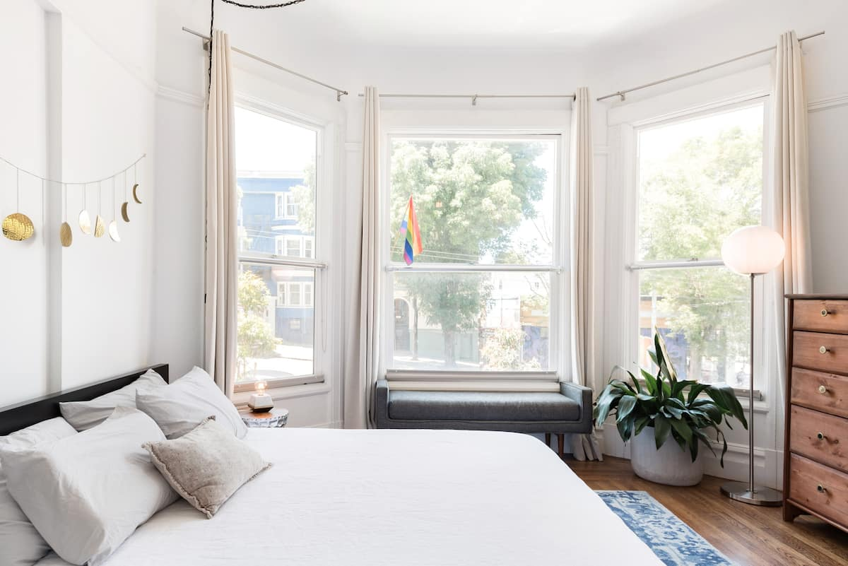 Sunny, Eclectic Home in Haight-Ashbury