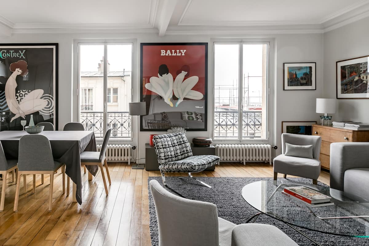 Take in the Breathtaking Views From a Montmartre Apartment