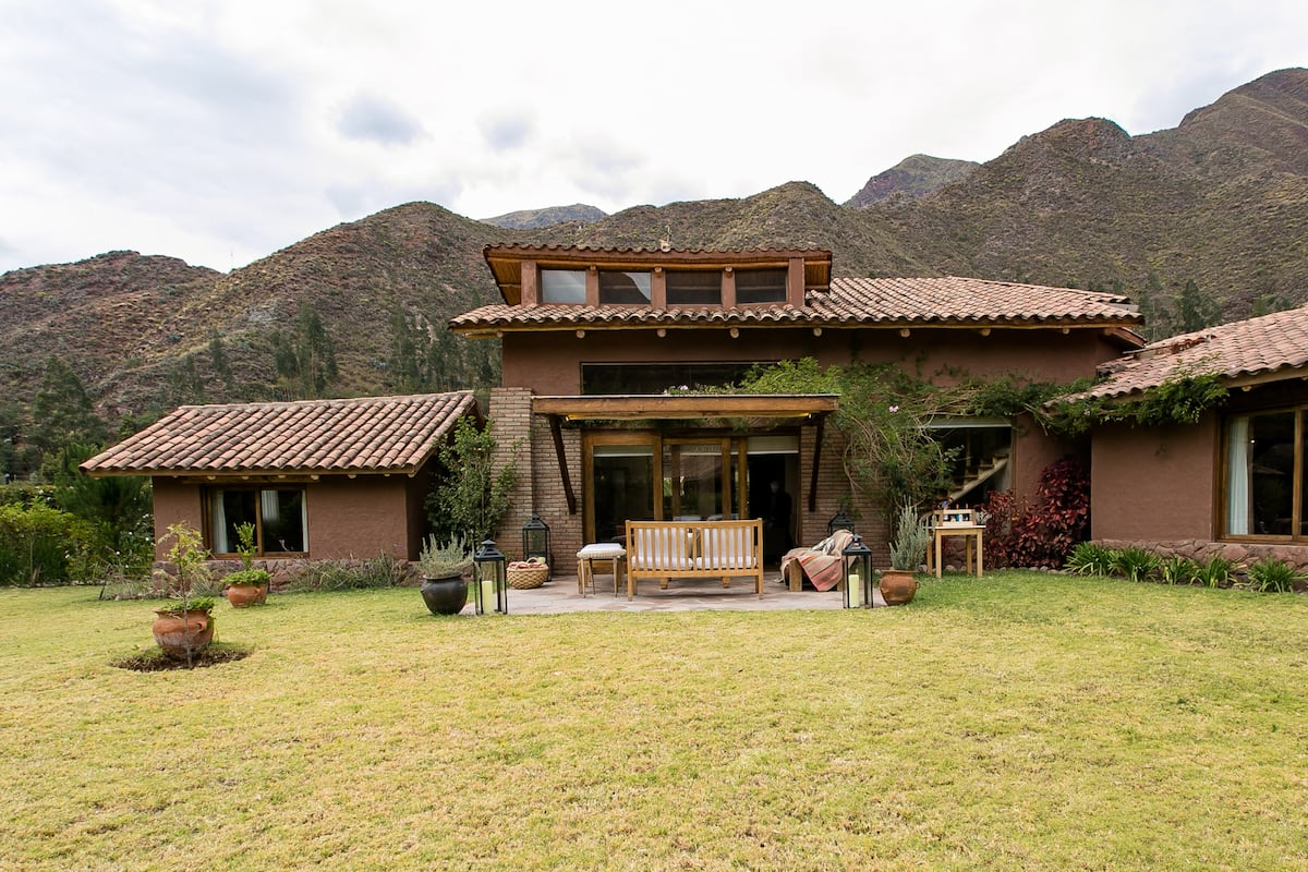 Breathe the Mountain Air at a Rustic Sacred Valley Oasis