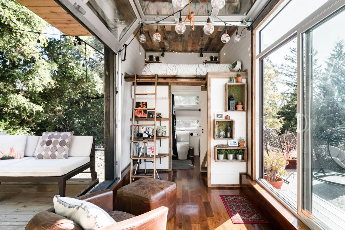 Spectacular Tiny Home in a Hidden Oasis of Nature & Serenity