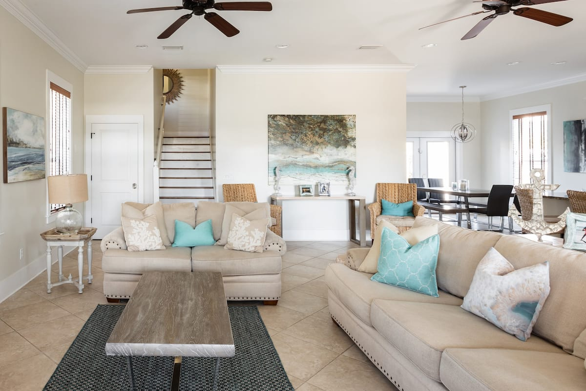 Betty—Gulf-View Home With Pool 3 Minutes' Walk to Beach