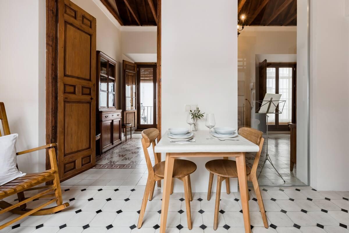 Disfruta del relax en esta casa monumental del siglo XVIII
