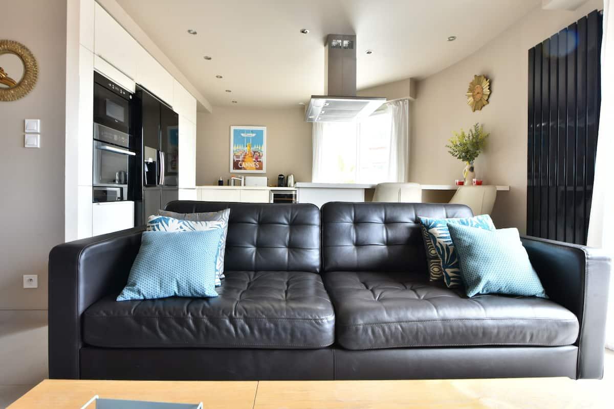 Splendide appartement avec terrasse panoramique poche palais