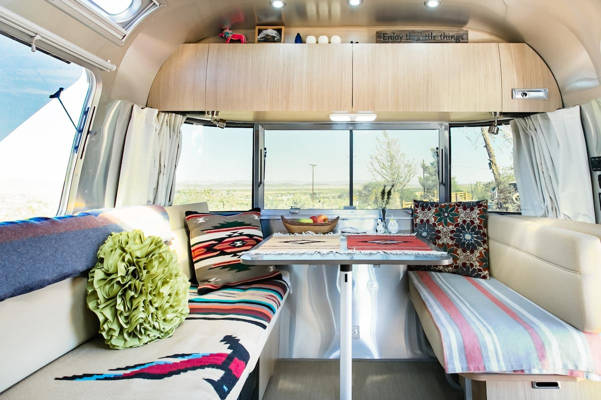 Unique Airstream Experience in Joshua Tree
