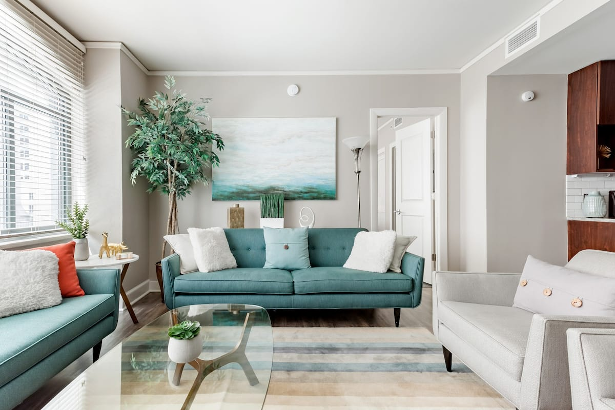 Exclusive Mezzanine Suite in Historic Block-Long Building
