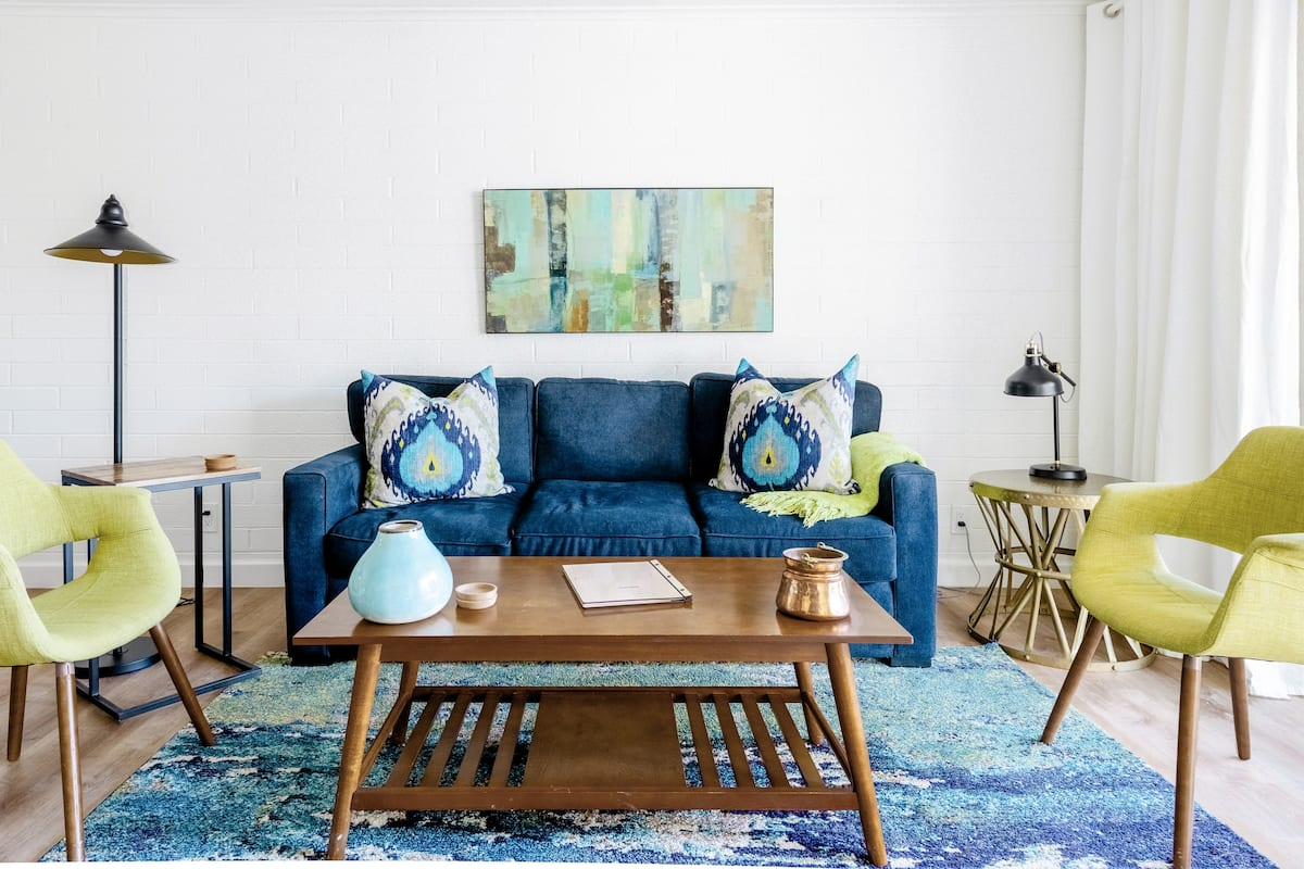 Special Offer Citrus Mid-Century Modern Oasis