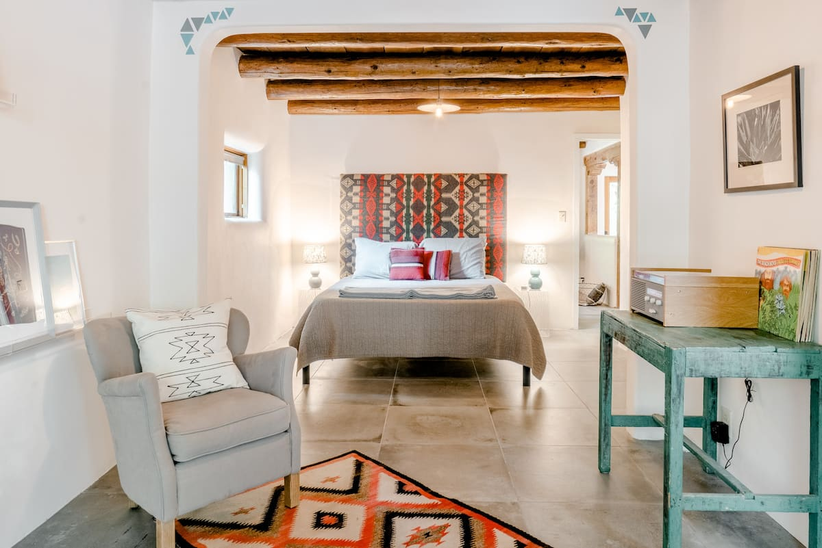 Classic Adobe Meets Modern Design in the Heart of Taos