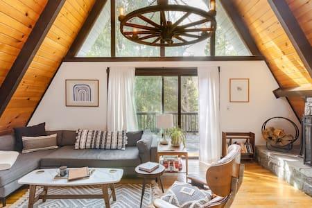 Lake Arrowhead Area Mid Century A-Frame Cabin