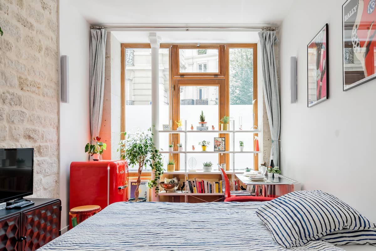 Take It Easy in This Stylish Boutique Nest in Central Paris