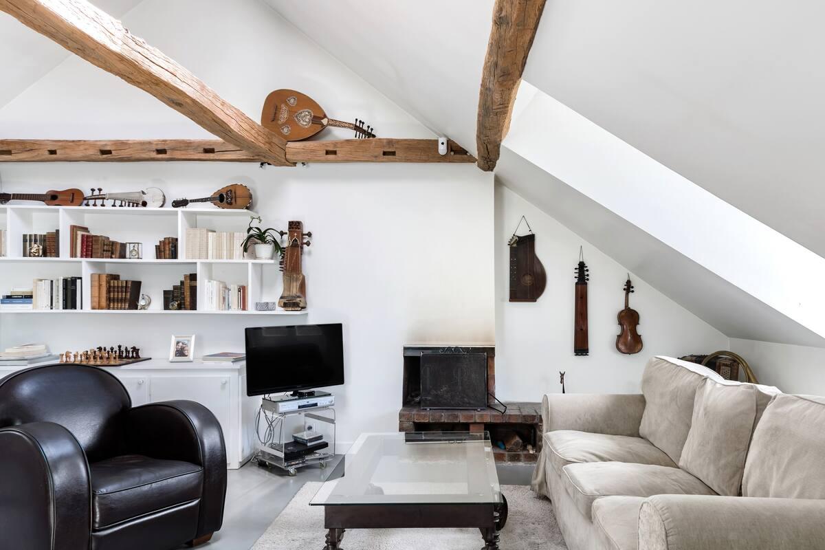 Suite romantique dans un magnifique loft