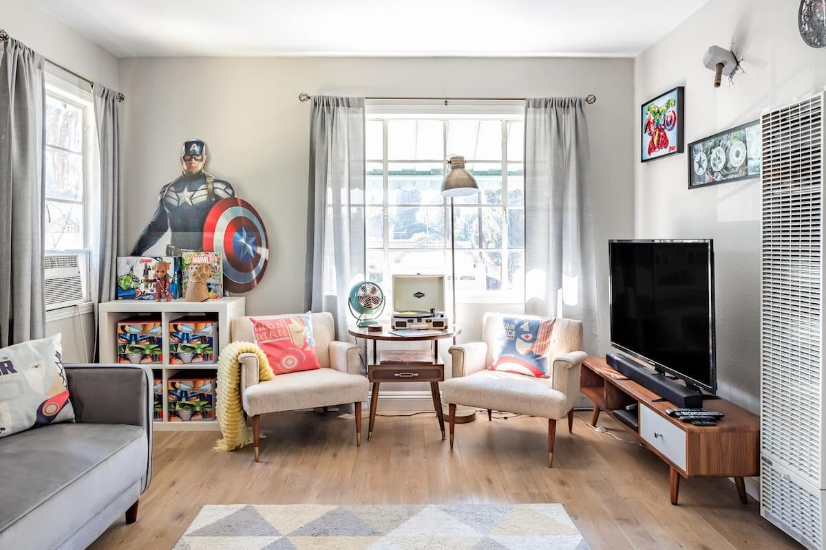 The Marvel Manor—Family-Friendly Comic-Themed Home