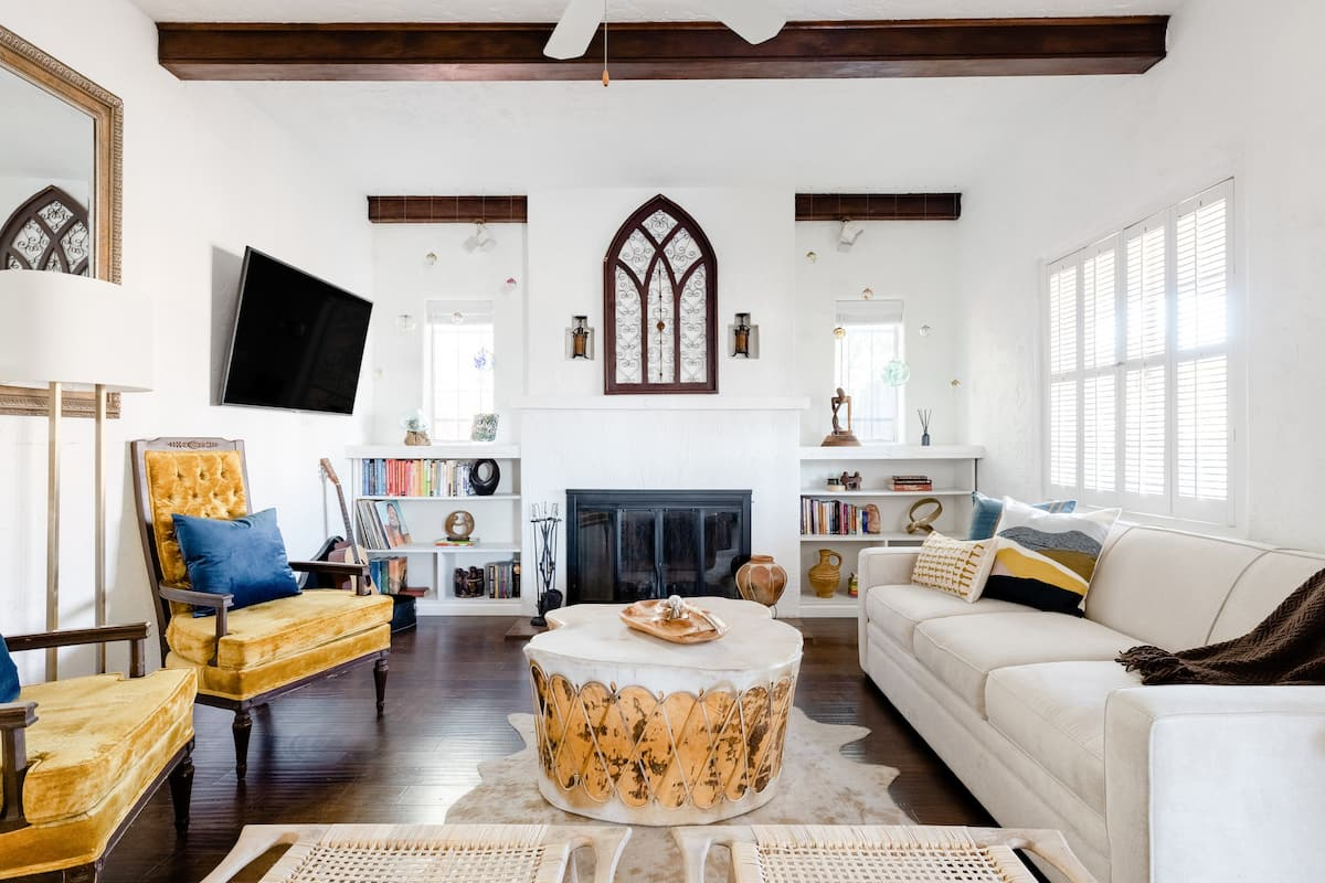 Artful Historic Melrose District Home Near Cultural Venues