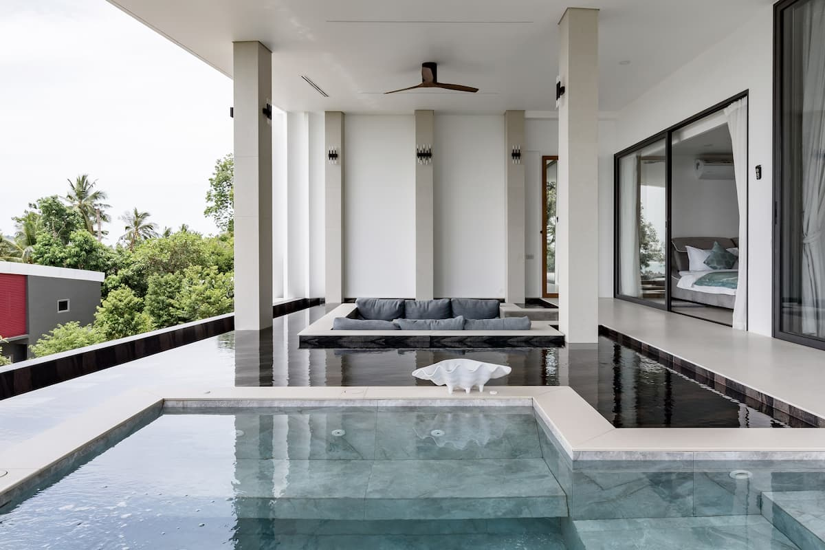 Magical Views From a Modern Villa in Samui