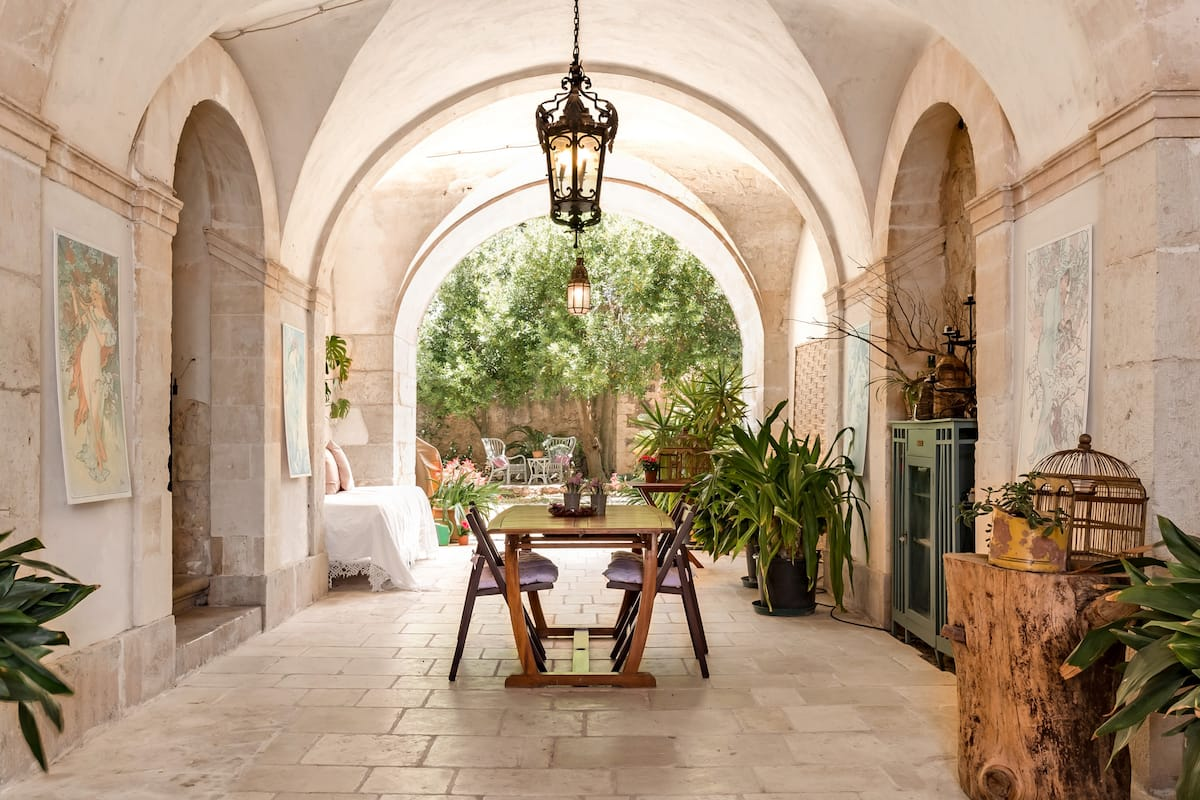 The Poet's House That Was Turned in a Hillside Villa