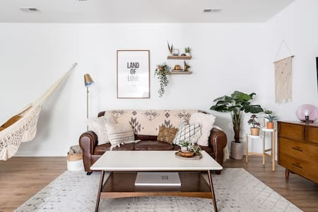 Retreat to a Boho Chic Guesthouse in a Leafy Family Suburb