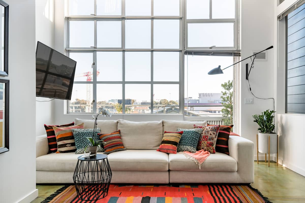 Take in the City Views From a Stylish SoMa Loft