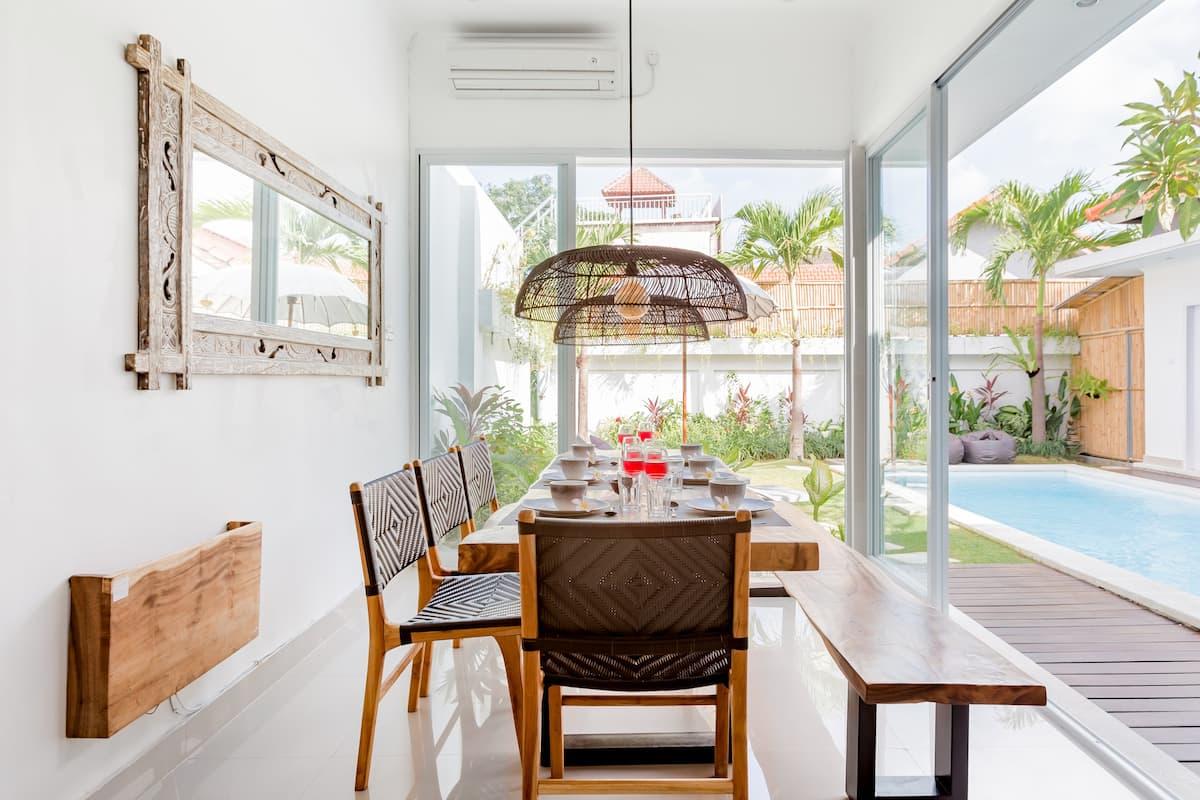 New Three Bedroom Villa with Pool Super Close Berawa Beach.