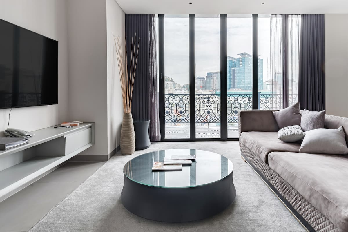 Ultra-Sleek Urban Penthouse 50 Meters from Nguyen Hue Street