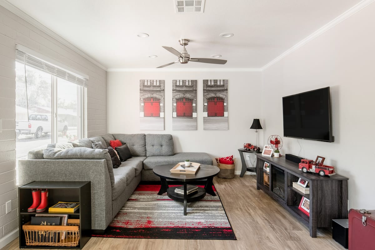 Casa Fuego—Firehouse-Themed Apartment in Heart of Tempe