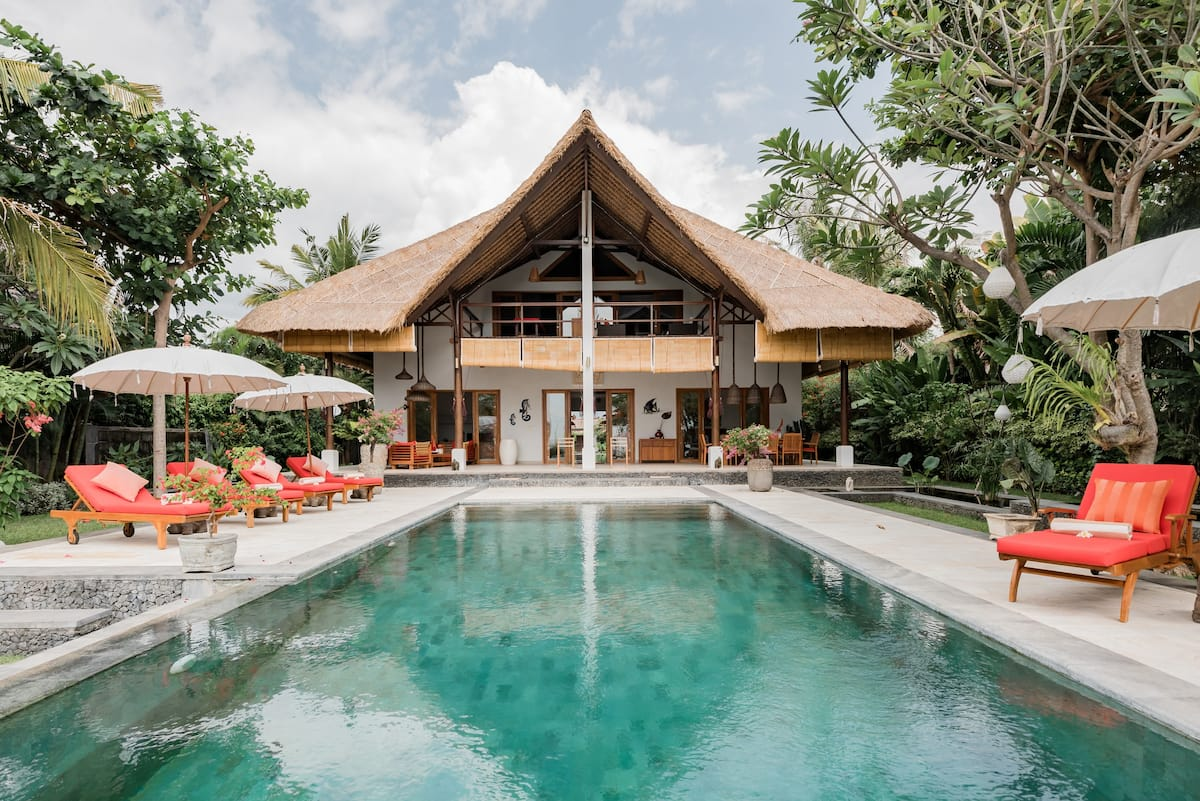 Villa Niyati, Chic, Authentic Beach Villa