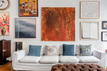 Stylish Artistic Apartment Ipanema