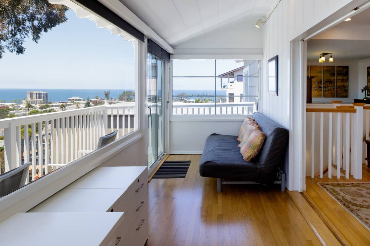 View the Ocean from Jane's La Jolla Classic Craftsman