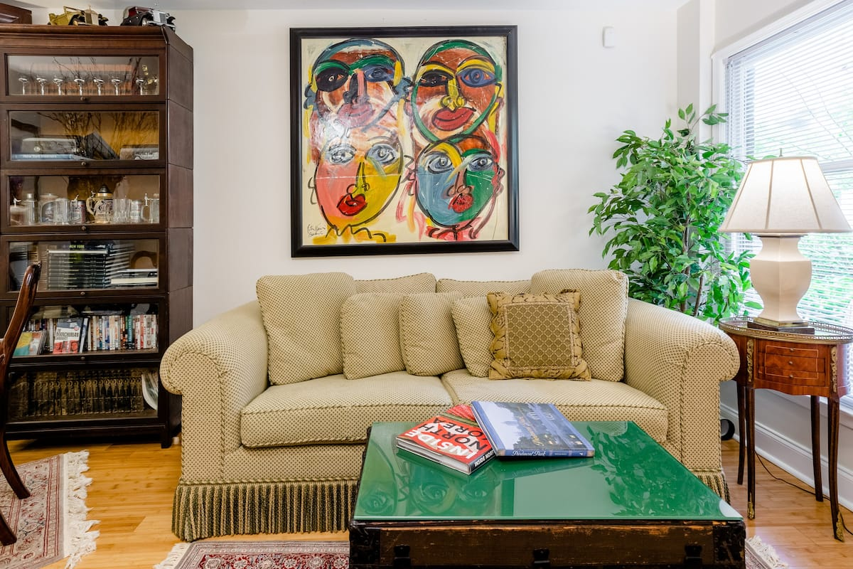 Eclectic Gem with a Garden Terrace in Midtown
