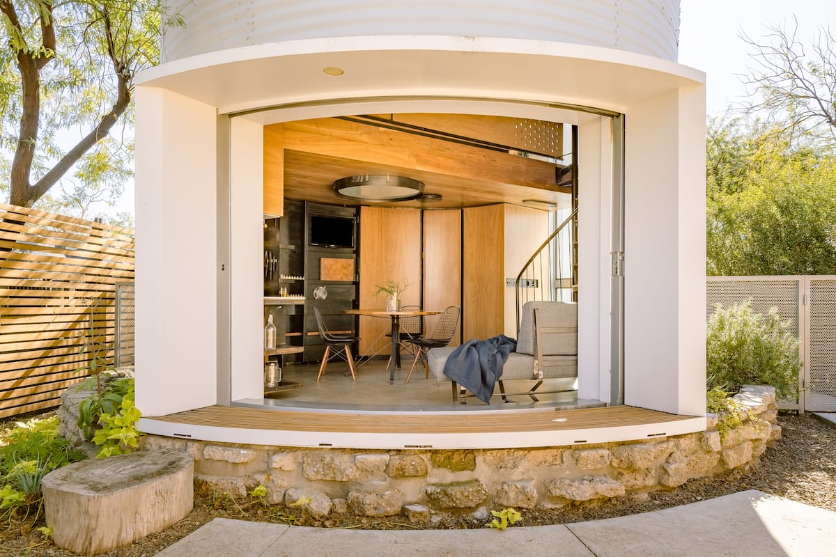 The Silo House—Iconic Award-Winning Tiny Home