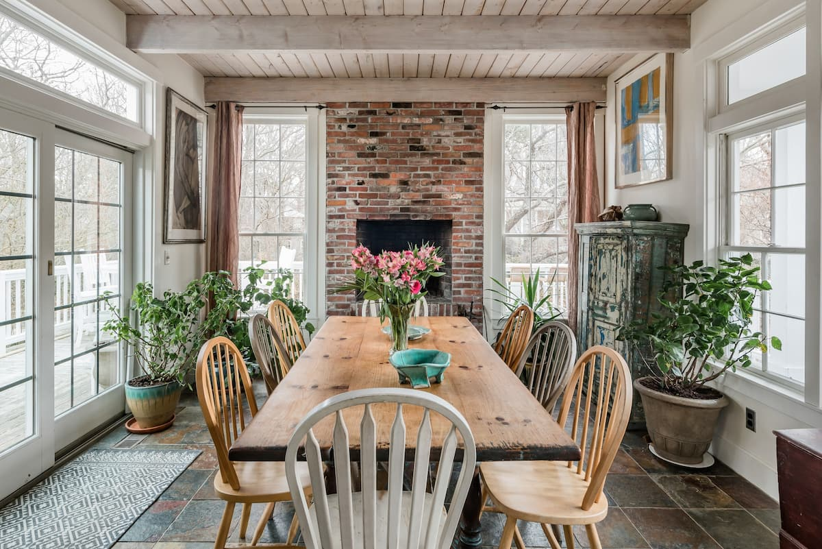 East End Artist Home with Perennial Gardens and Water Views